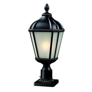 Z-Lite Matte Glass Outdoor Post Light