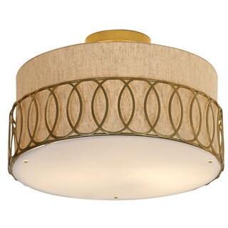 Bangle Small Flush-mount Light Fixture