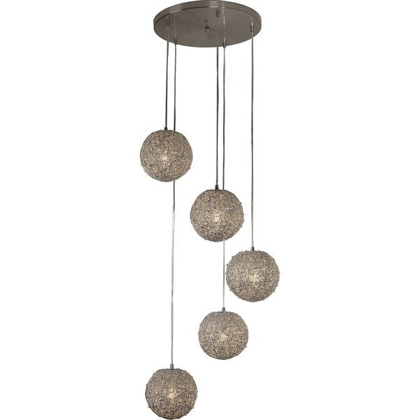 Salon Five Light Pendant