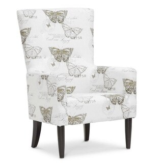 Baxton Studio 'Linneaus' Beige Linen Accent Chairs (Set of 2)