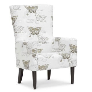 Baxton Studio 'Linneaus' Beige Linen Accent Chairs (Set of 2)