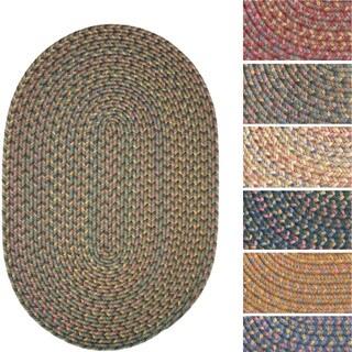 Bouquet Indoor/ Outdoor Braided Oval Area Rug (2' x 3')
