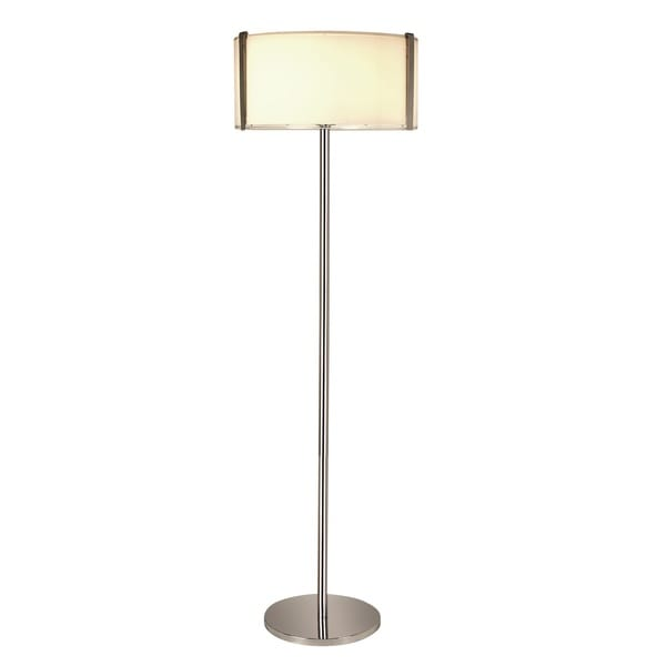 Apollo Clear Glass Floor Lamp