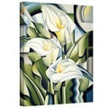 Art Wall Catherine Abel 'Cubist Lilies' Gallery-Wrapped Canvas