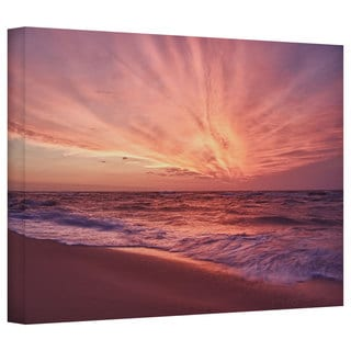 Art Wall Dan Wilson 'Outer Banks Sunset III' Gallery-Wrapped Canvas