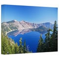 Art Wall Dan Wilson 'Crater Lake ' Gallery-Wrapped Canvas