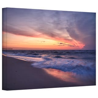 Art Wall Dan Wilson 'Outer Banks Sunset I' Gallery-Wrapped Canvas
