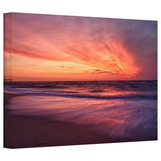 Art Wall Dan Wilson 'Outer Banks Sunset II' Gallery-Wrapped Canvas