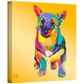 Art Wall Linzi Lynn 'George' Gallery-Wrapped Canvas