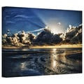 Art Wall Dan Wilson 'Atlantic Sunrise ' Gallery-Wrapped Canvas