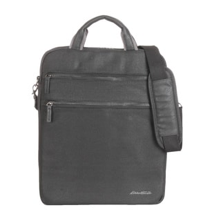 Eddie Bauer Waxed Canvas 16-inch Vertical Laptop Case