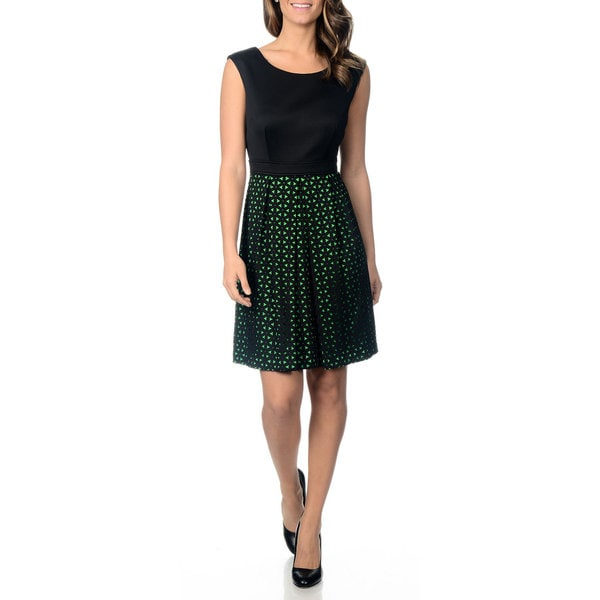 Studio I Women's Laser Cut Dress