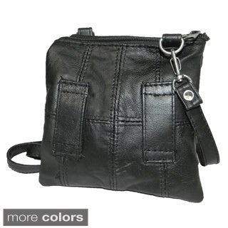 Hollywood Tag Leather Casino/ Travel Pouch