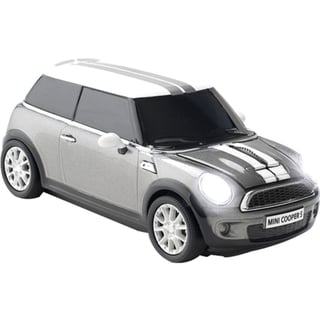 Click Car Mini Cooper S Wireless Wireless Optical Mouse Dark Silver