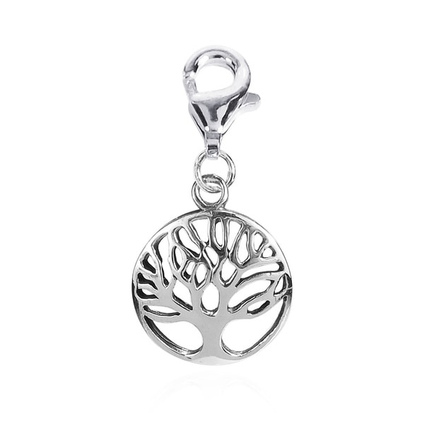 Mini 'Tree of Life' Symbol .925 Silver Pendant or Charm (Thailand)