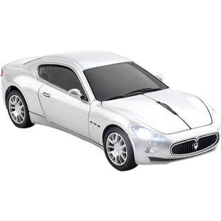 Click Car Maserati Gran Turismo Wireless Mouse - Silver