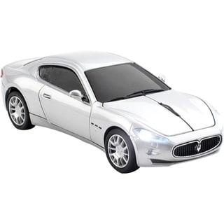 Click Car Maserati Gran Turismo Wireless Mouse - Silver