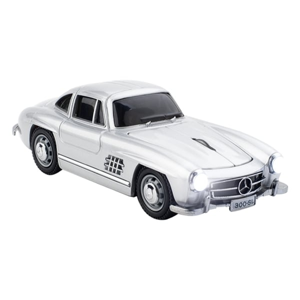 Click Car Mercedes-Benz 300SL Wireless Optical Mouse - Silver