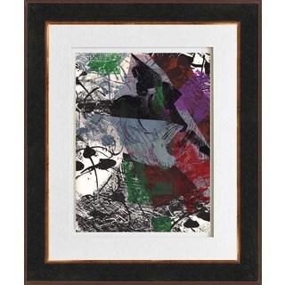 Jean-Paul Riopelle 'Untitled - DM40' Original Lithograph Framed Art