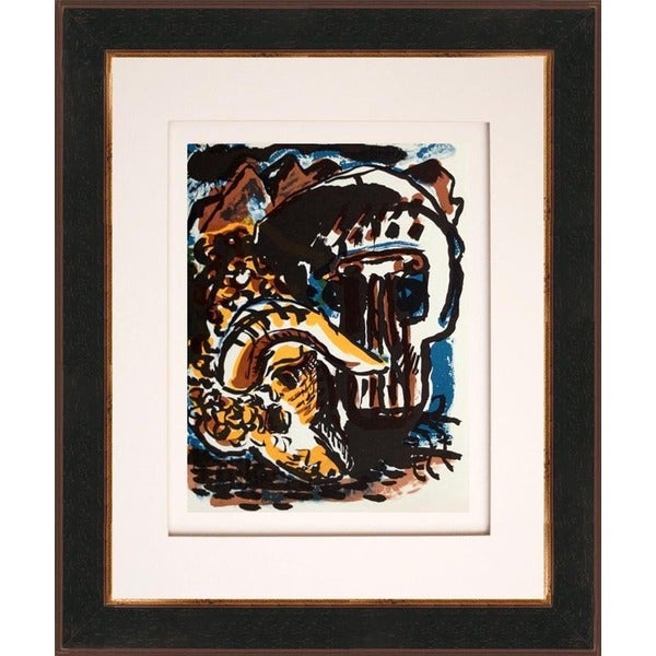 Peter Chevalier 'Untitled - N6-2' Original Framed Lithograph