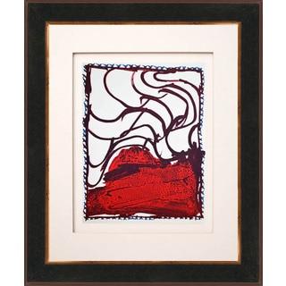 Pierre Alechinsky 'Untitled - N8-3' Original Framed Lithograph