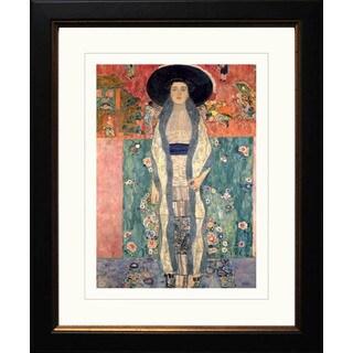 Gustav Klimt 'Portrait of Adele 2' Framed Giclee