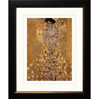 Gustav Klimt 'Portrait of Adele 1' Framed Giclee
