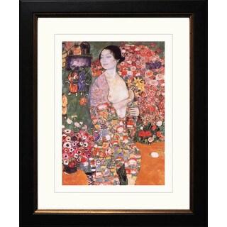 Gustav Klimt 'The Dancer' Framed Giclee
