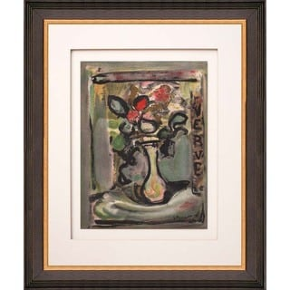 Georges Rouault 'Untitled - V4 Cover' Lithograph Framed Art