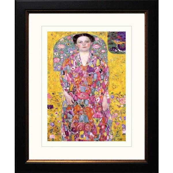 Gustav Klimt 'Eugenia Primavesi' Framed Giclee