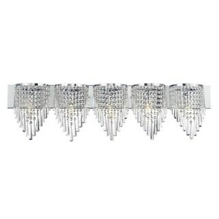 Z-Lite 5-light Crystal Vanity Light
