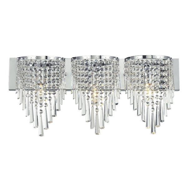 Vanity Lights With Crystals : Z-Lite 3-light Crystal Vanity Light - 15879666 - Overstock.com Shopping - Top Rated Z-Lite ...