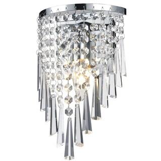 Z-Lite 1-light Crystal Vanity Light