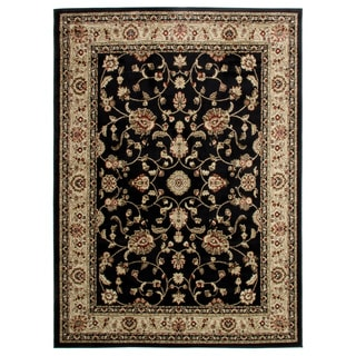Marash Black Area Rug (5'3 x 7'3)