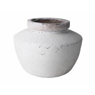 Small Stoneware Decorative Pot