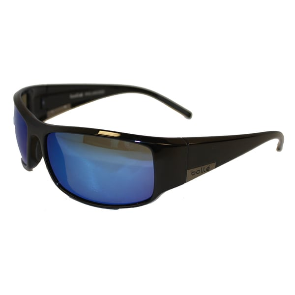 Bolle Sport King Black and Blue Sunglasses