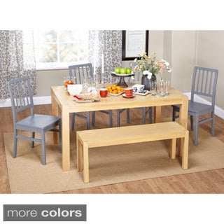 Solano 6-piece Dining Set with Bench