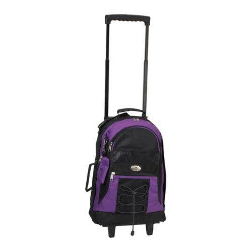 Everest Wheeled Backpack 7045 Dark Purple