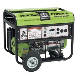 6000-watt Electric Start Propane Generator