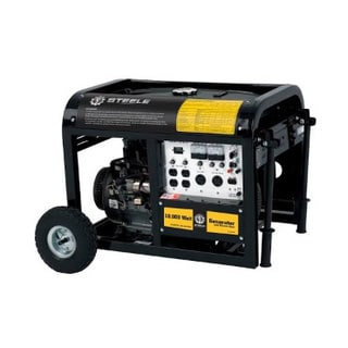 10000-watt Max 15 HP Electric Start Generator