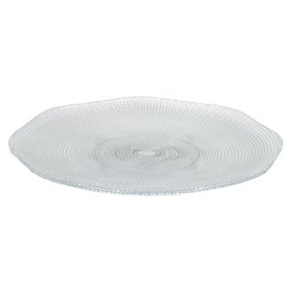 "IMPULSE! 12"" Glass Eternity Platters (Set of 6)"