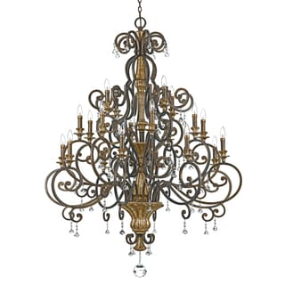 Quoizel 'Marquette' 20-light Chandelier