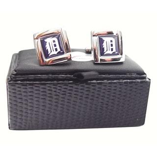 MLB Logo Square Cufflinks Gift Box Set