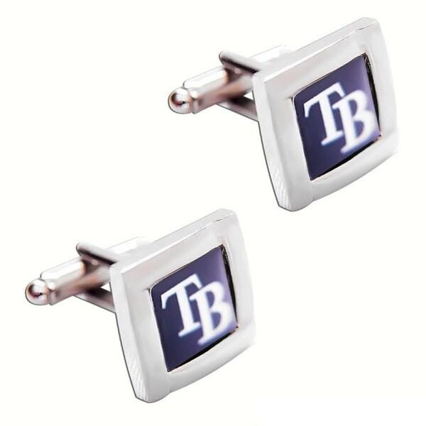 MLB Square Cufflinks with Square Shape Logo Design Gift Box Set 12151722
