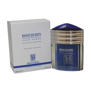 Boucheron Men's 3.3-ounce Eau de Toilette Fraicheur Spray Limited Edition