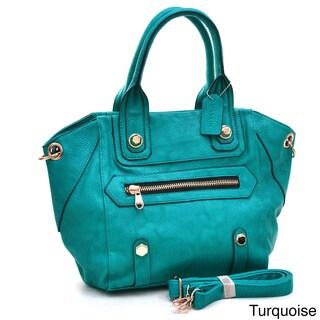 Dasein Chunky Studs Satchel Bag