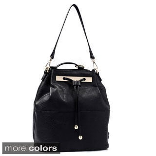 Isabelle Convertible Drawstring Shoulder Bag