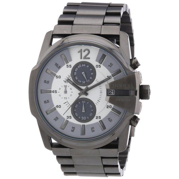 Diesel Men's Chronograph Stainless Steel Gunmetal Watch