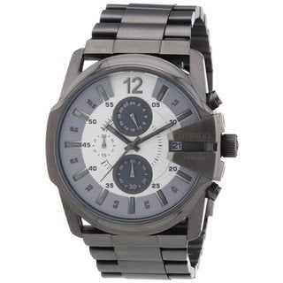 Diesel Men's Chronograph Stainless Steel Gunmetal Watch