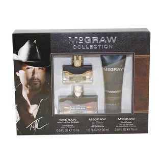 Tim Mcgraw 'Mcgraw' Men's 3-Piece Gift Set